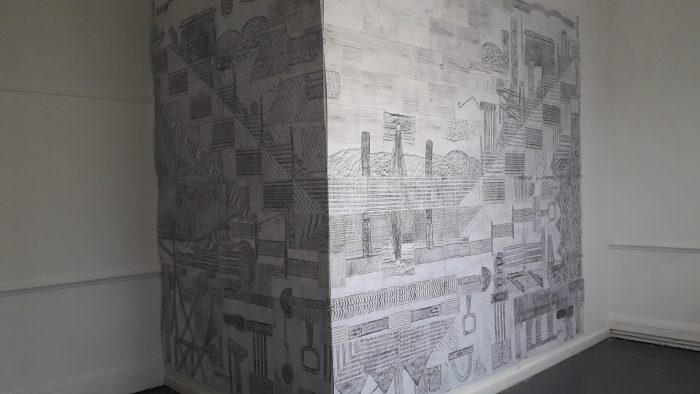 Installation for Drawing out The Canal at DPUK